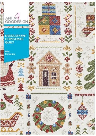 Anita Goodesign NeedlePoint Christmas Quilt Embroidery Design (Mini Collection)