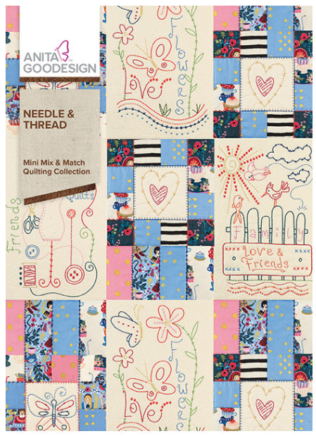 Anita Goodesign Needle & Thread Mini Mix and Match Embroidery Designs