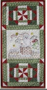 St. Nick Mini-Machine Embroidery Pattern