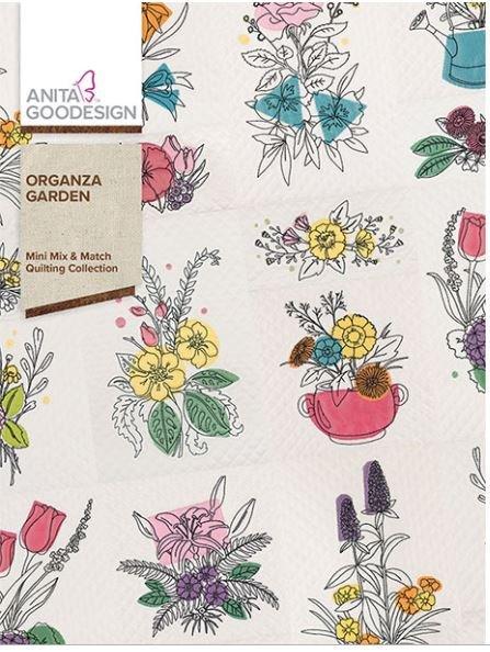 Anita Goodesign Organza Garden Embroidery Designs