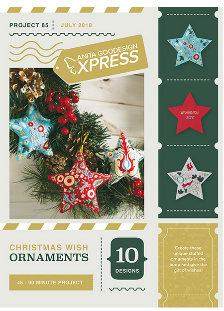 Anita Goodesign Express Christmas Wish Ornaments Embroidery Designs