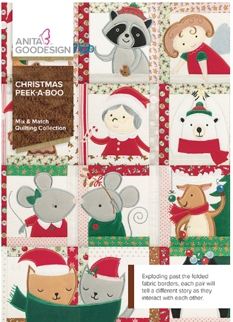 Anita Goodesign Christmas Peek-A-Boo Embroidery Design