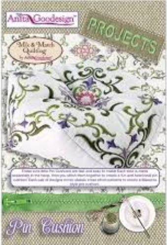 Anita Goodesign Pin Cushion Embroidery Design Projects