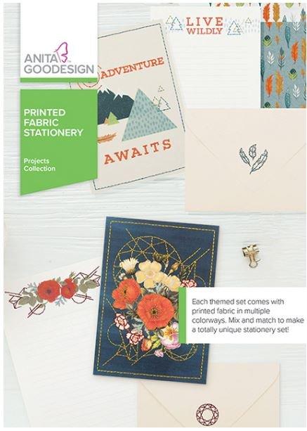 Anita Goodesign Printed Fabri Stationery Embroidery Designs