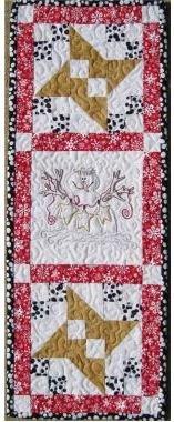 Star Mini-Machine Embroidery Pattern