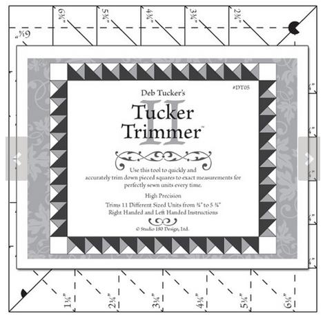 Tucker Trimmer II Ruler