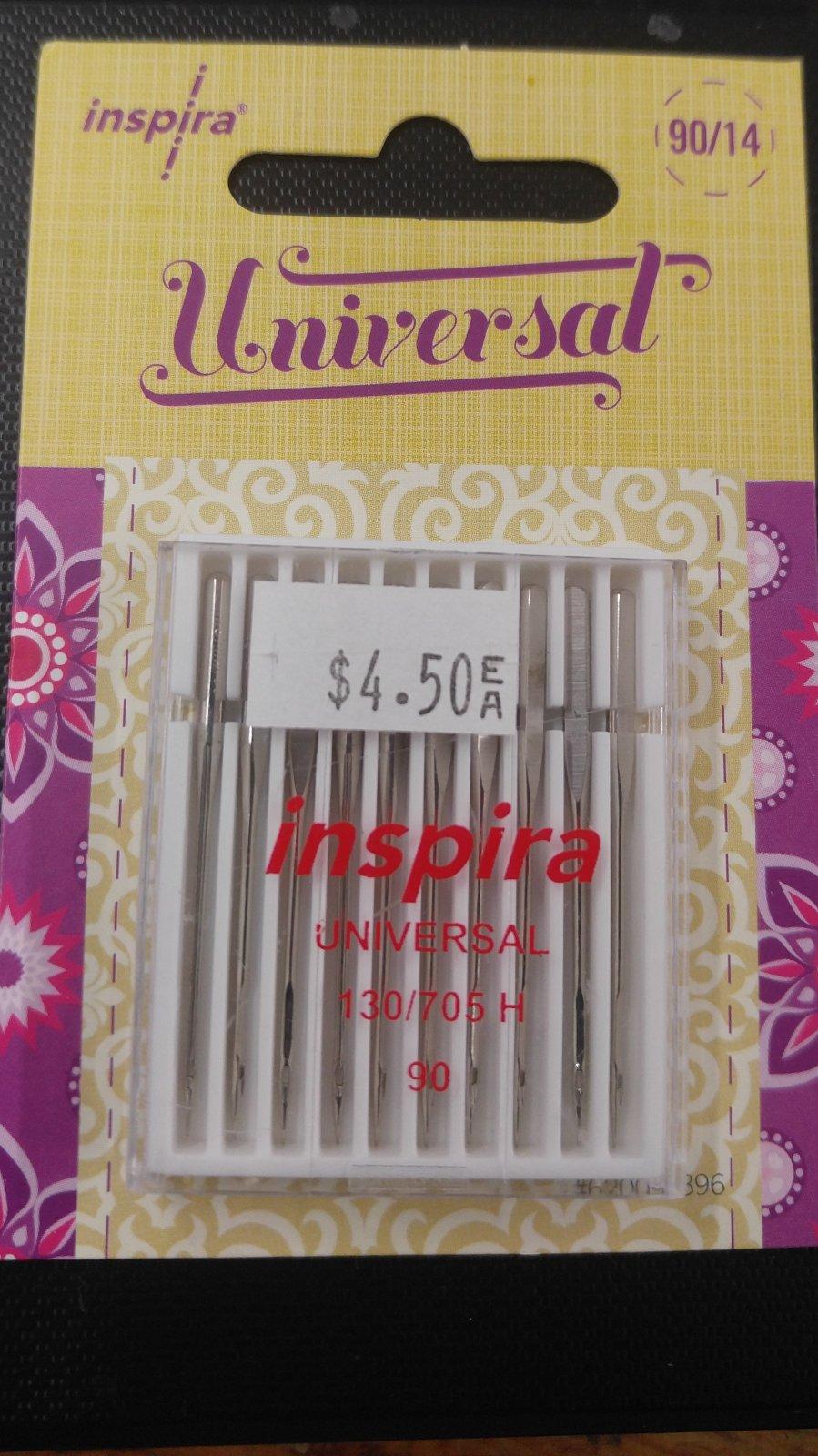 Inspira Universal 90/14 Needles (10 pack)