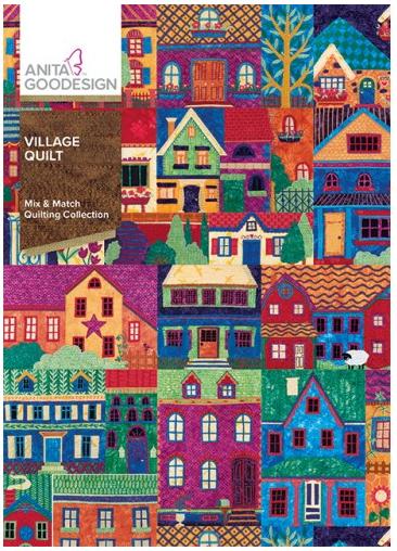 Anita Goodesign Village Quilt Embroidery Designs 376