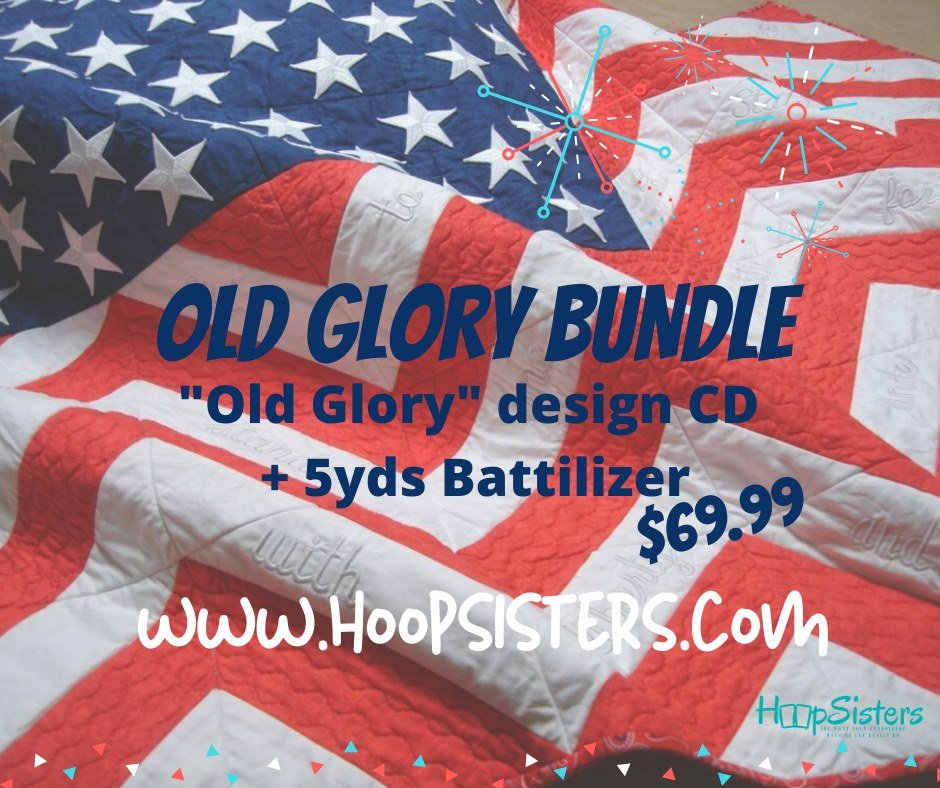Hoopsisters Old Glory Bundle