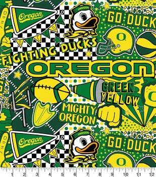 NCAA PopArt Cartoon Ducks