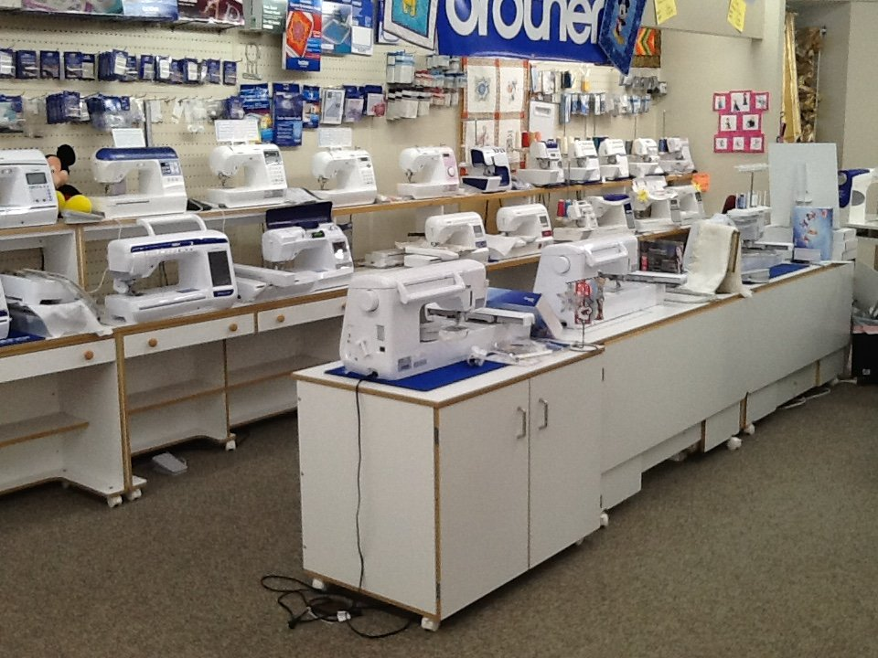 The Fabric Center Sewing Machine Super Store In Morris IL Extraordinary Sewing Machine Center