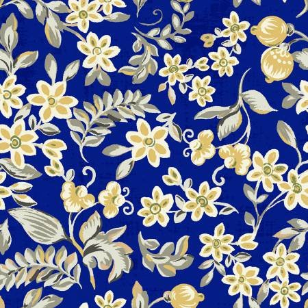 Mackenzie Collection  112-30121 Small Floral Navy