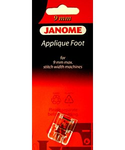 Applique Foot 9MM machine