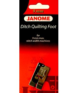 Ditch Quilting Foot 9 mm