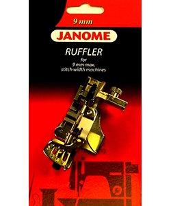 Ruffler for 9mm machine