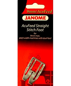 AcuFeed Stragiht Stitch Foot 9MM machine