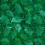 Willmington Petals Essential Green WIDEBACK 108X108