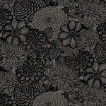 108 X108 Black Foile Toile