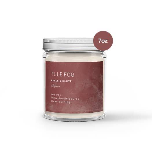 Tule Fog Apple + Clove Candle 7 oz