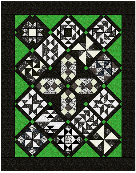 Quilt N Bee Block Of The Month August 2015
