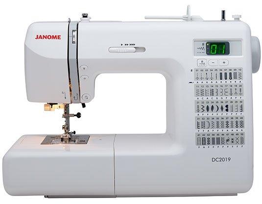 DC 2019 Janome sewing machine
