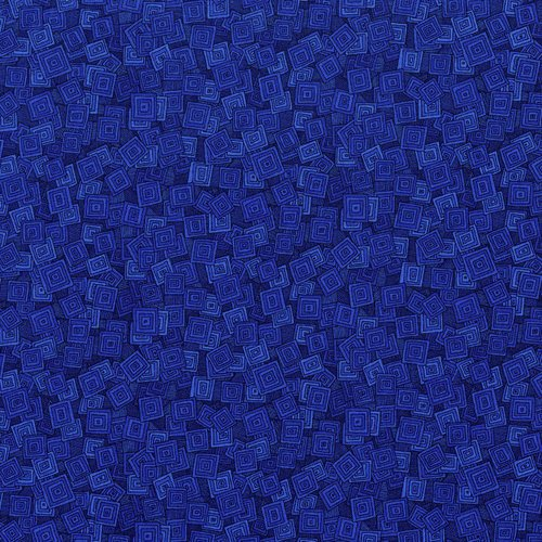 Hopscotch 3215-001 Overlapping Squares Blueberry