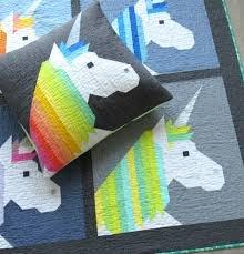 Lisa the Unicorn Small Quilt Kit