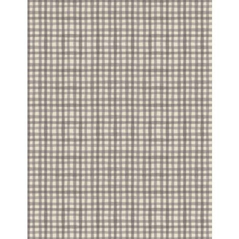 Farmhouse Chic Gingham Taupe