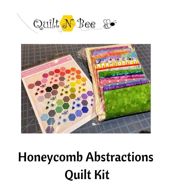 Honeycomb Abstractions Quilt FABRIC KIT