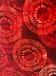 Willmington Prints Red Circles WIDEBACK 108 X108