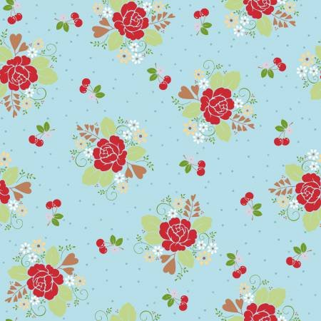 Sew Cherry Laminet 1/2 yard