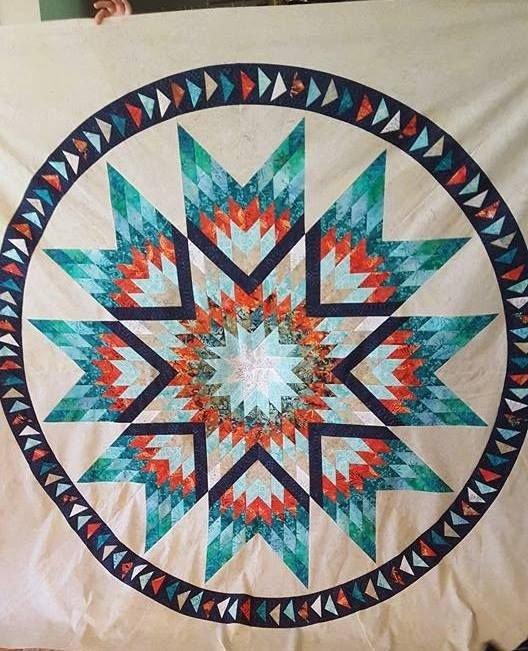Lakeshore Sunrise fabric kit