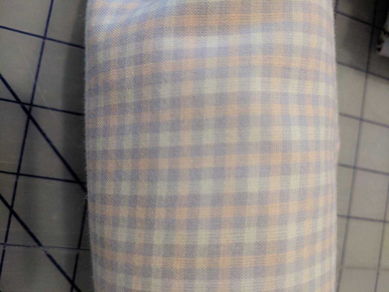 Lavendar Plaid 3 yard bundle