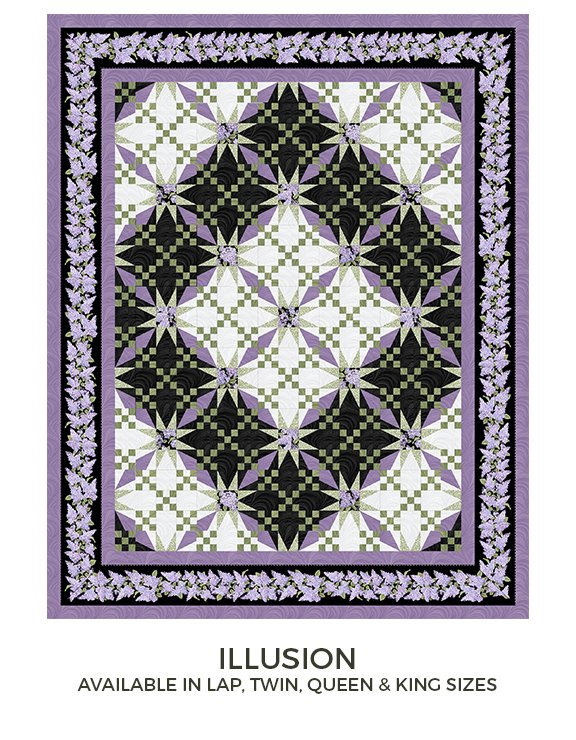 PRE ORDER Illusions Pattern QUEEN