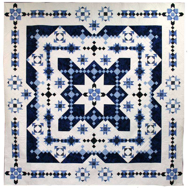 Mid Winter Blues Block of the Month Starts December 2020