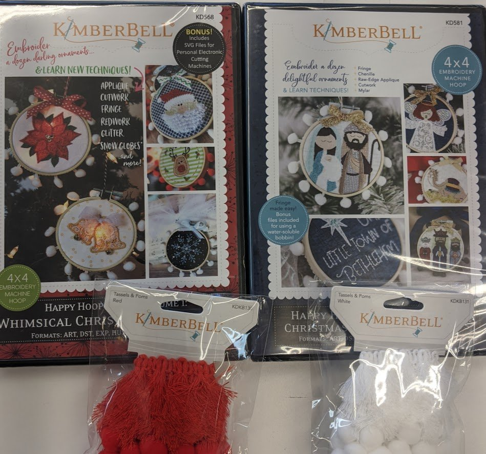 Christmas Ornaments Kit from Kimberbell