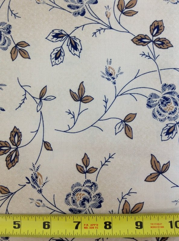 Sara's Blues by Blue Hill Fabrics  7133 8 - 3 yard bundle