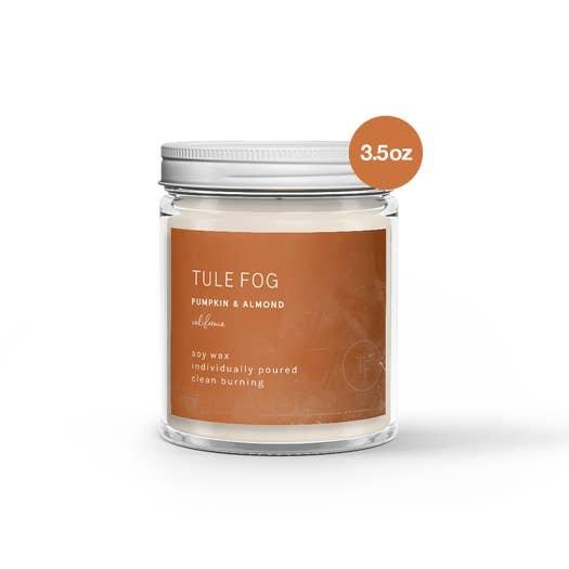 Pumpkin & Almond Tule Fog Candle 7oz