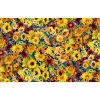 Flowers of the Sun 1419 79260 587 - 1 yard bundle