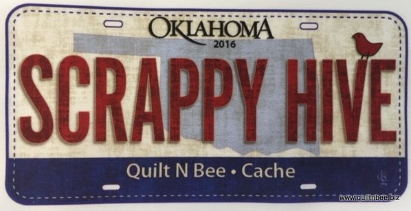 Scrappy Hive Plate