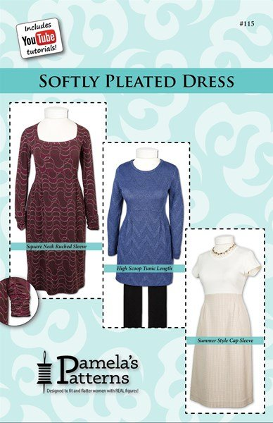 Softly Pleated Dress