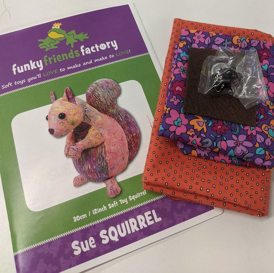 Sue Squirrel Kit