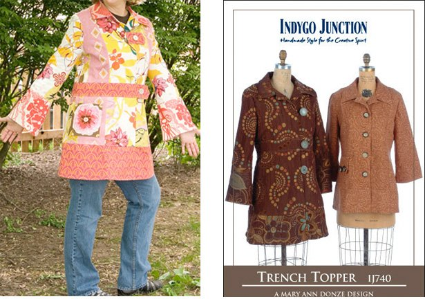 Indygo Junction Trench Topper