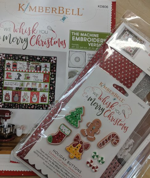 We Whisk you a Merry Christmas with Embellishment Kit