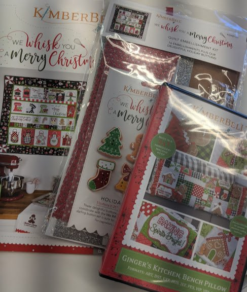 Kimberbell We Whisk you a Merry Christmas CD & Embellishment & Gingers Kitchen CD