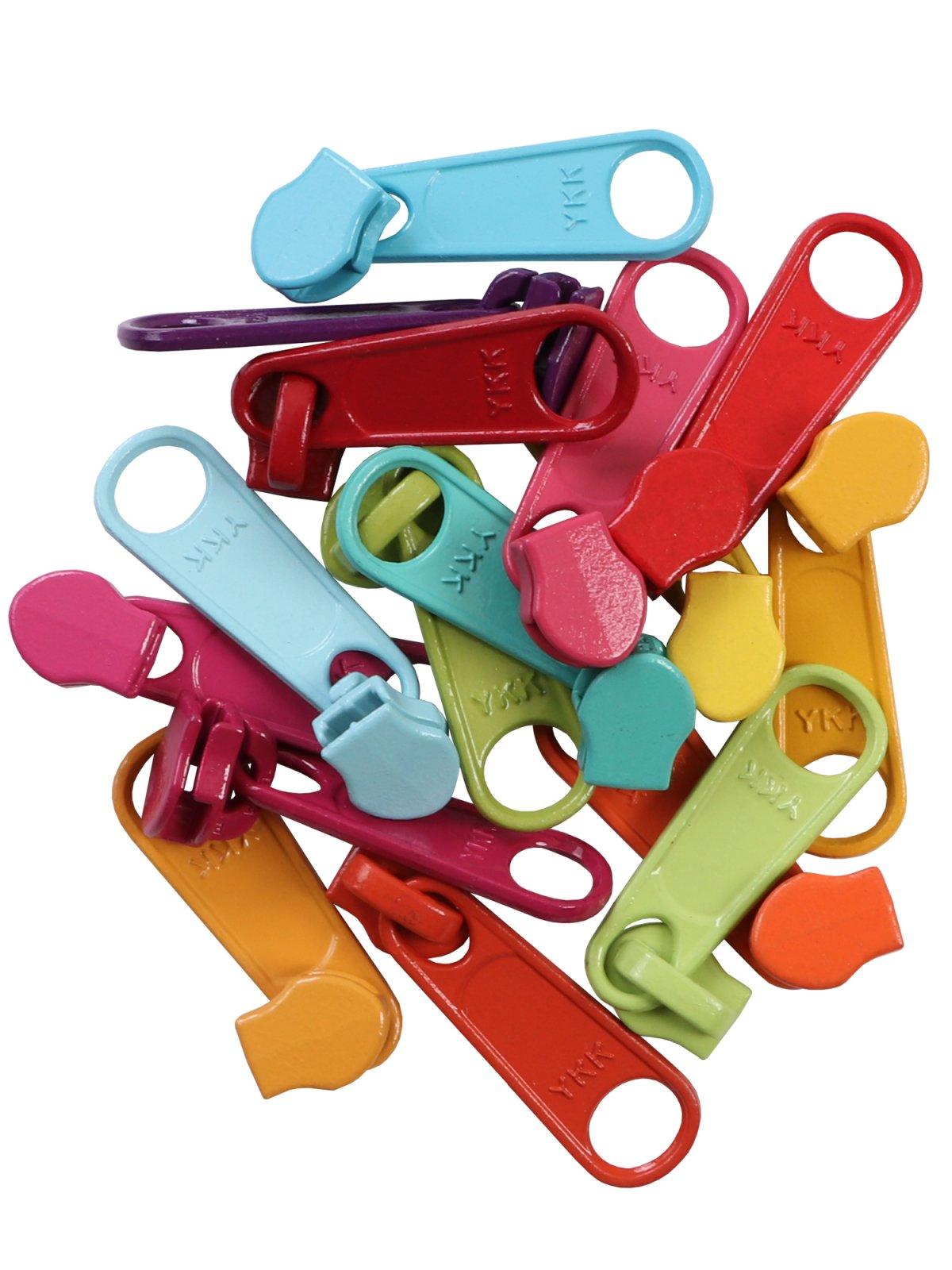 Multi Color Zipper pulls