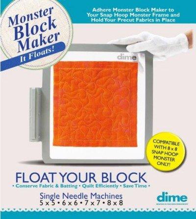 Dime Monster Block Maker - Single Needle Machines