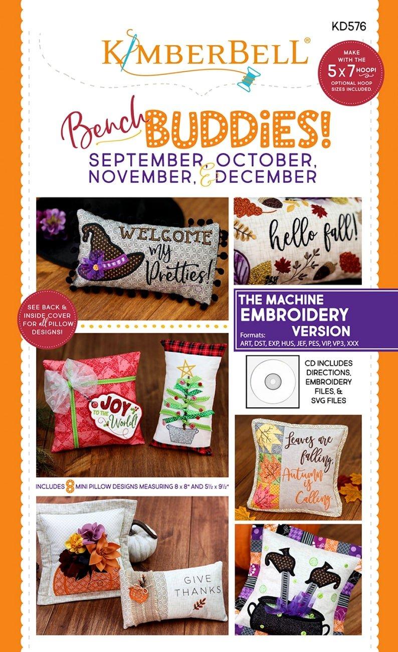 Kimberbell Bench Buddies! - Sept. - Dec. Embroidery CD
