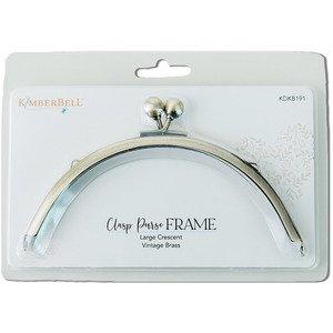 Kimberbell Clasp Purse Frame - Lrg. Crescent