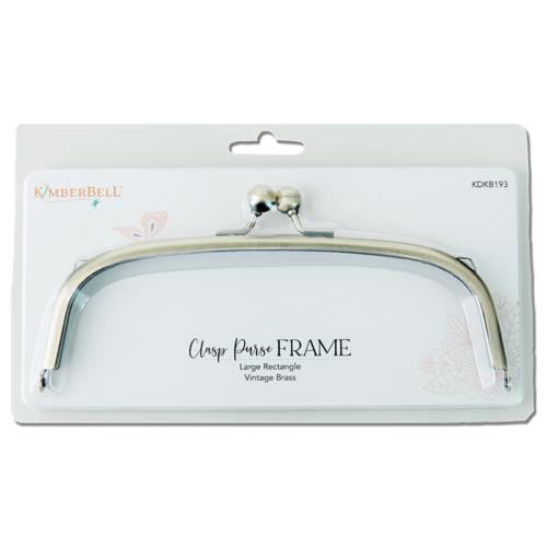 Kimberbell Clasp Purse Frame - Lrg. Rectangle